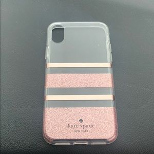 Kate spade cell phone cover iPhone X